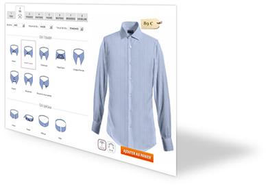 chemise sur mesure chemise homme lib sta l. Black Bedroom Furniture Sets. Home Design Ideas