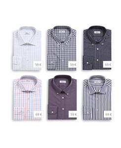 Choisissez un modele de chemise