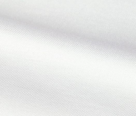 Oxford 100s blanc uni double retors – Traitement Easy Care