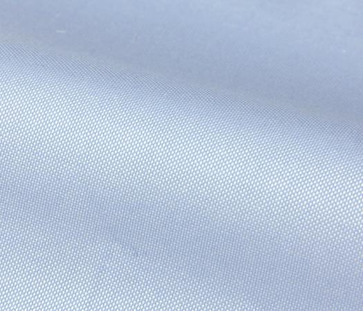 Oxford 100s bleu ciel uni double retors – Easy Care